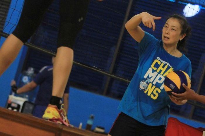 Tian Mei Jadi Pelatih Timnas Bola Voli Putri, Ini Pertimbangan PP PBVSI