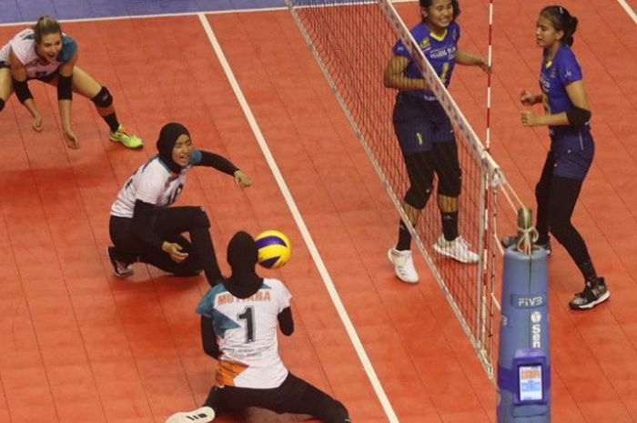 Tim Putri Jakarta BNI Lolos Final Four Setelah Kalahkan Bandung Bank BJB