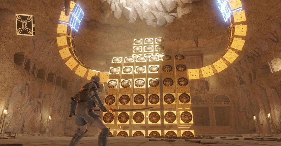 NieR Replicant Tunjukkan Gameplay Barren Temple